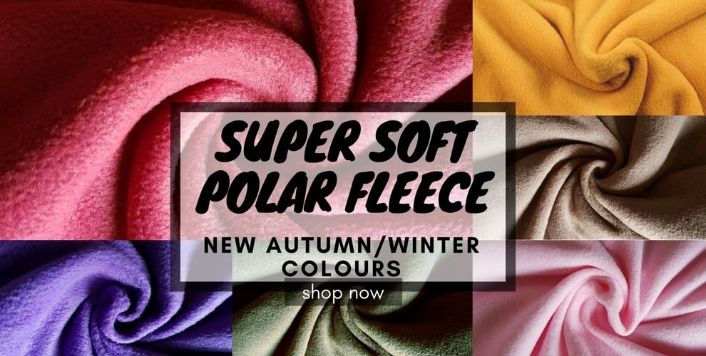 Super Soft Polar Fleece- NEW COLOURS