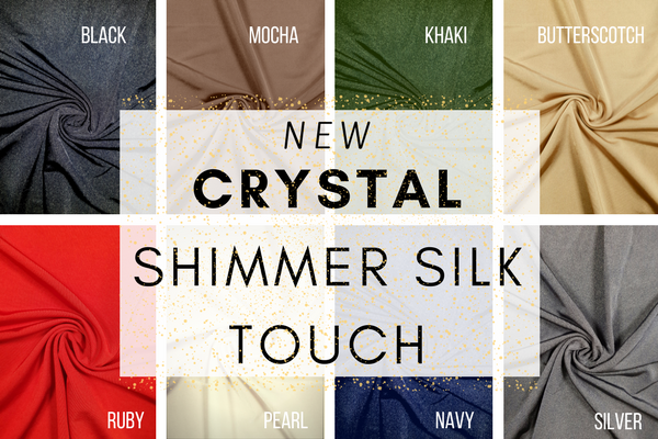 NEW Crystal Shimmer Silk Touch