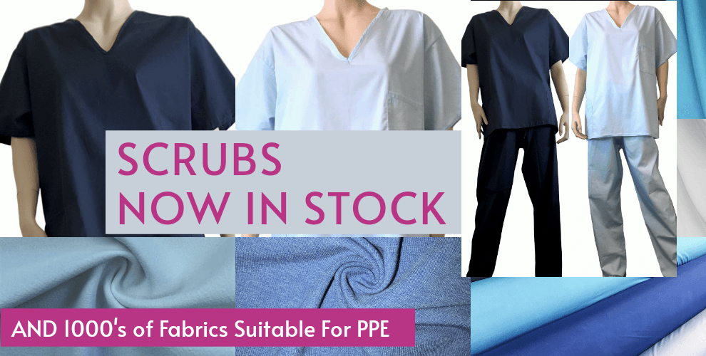 Ready Made Scrubs Now In Stock