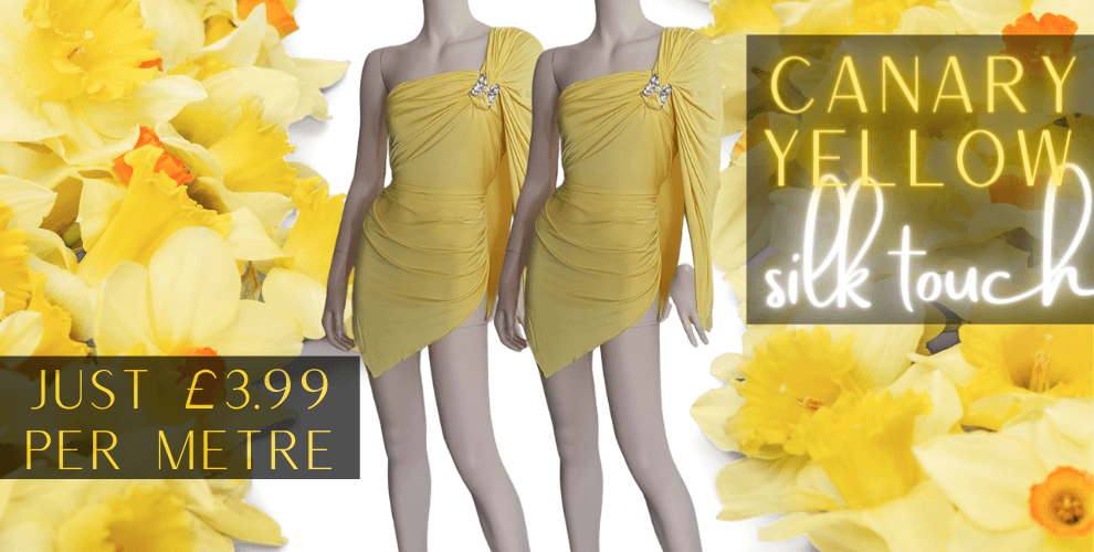 Canary Yellow Silk Touch