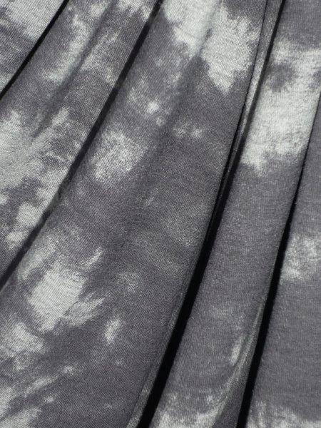 Candice Grey Tie Dye Viscose Cotton Stretch Lycra Fabric