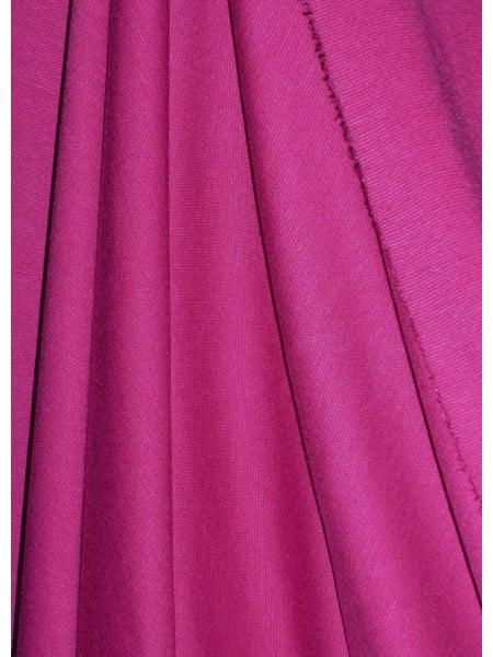 Ponte Double Knit 4 Way Stretch Jersey Fabric Magenta Q37 Mgt