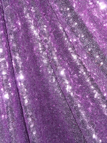 cbfa3362 Showtime Fabric All Over Stitched 3mm Sequins - Lilac SEQ53 LIL