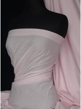 Poly Cotton Material- Baby Pink Q460 BPN