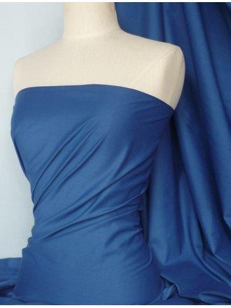 Poly Cotton Material- Royal Blue Q460 RBL