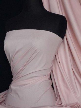 Cotton Poplin Stretch Shirt Fabric- Flamingo Q448 FPN