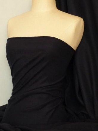 Sweatshirt Fleece Backed Super Soft Fabric (Tubular Width)- Navy Q842 NY