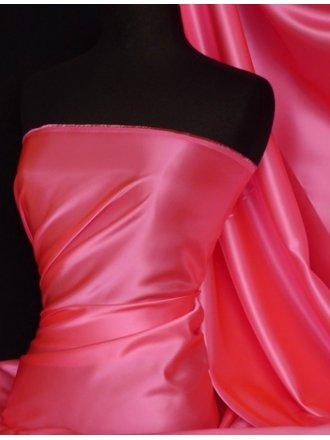 Acetate Satin Fabric Material- Cerise Q824 CRS