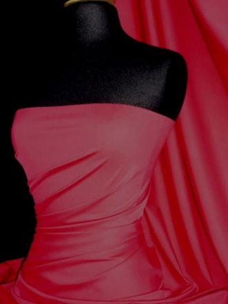 Rose Lycra / Spandex 4 Way Stretch Fabric Material