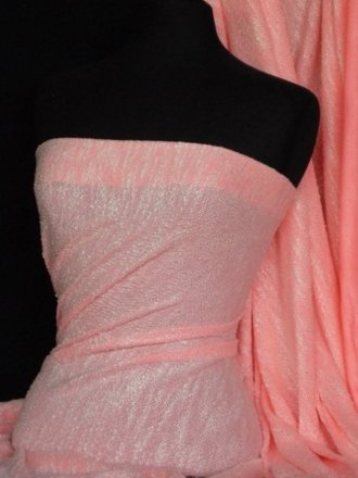 Sweatshirt Loop Back Jersey Material- Fluorescent Pink Q973 FLPN