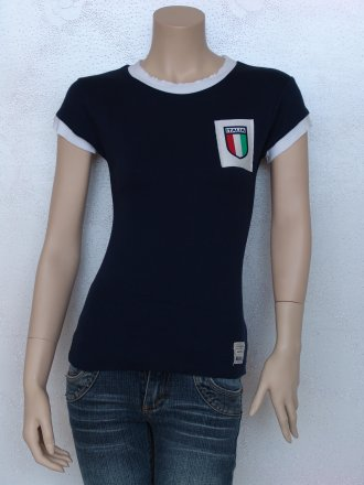 100% Cotton Italy Football T-Shirt