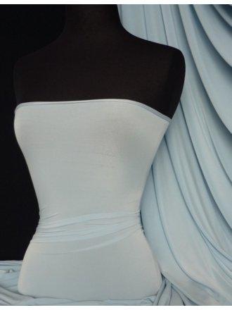 Silk Touch 4 Way Stretch Lycra Fabric- Sky Blue Q53 SKYBL