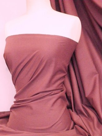 Poly Cotton Sheeting Fabric Material (150cm)- Raspberry Q1274 RSPB
