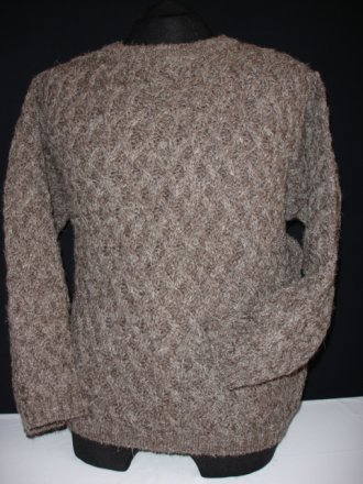 MEN'S Earth Brown Basket Weave Jumper- CV7 EBR