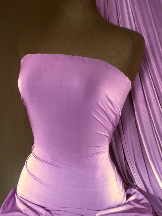 Diabolo Shiny Lycra 4 Way Stretch Fabric- Violet Q262 VLT