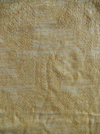 Knitwear Sweater Gold Lurex Fabric- Cream SQ156 CRM