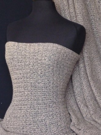 Sweater Knit Acrylic Soft Fabric- Desert Sand Q971 DSAND