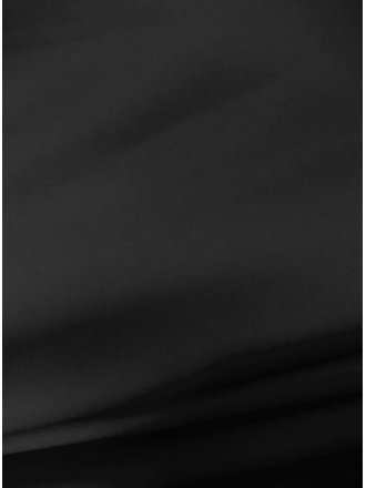 100% Polyester Stretch Fabric - Black SQ57 BK