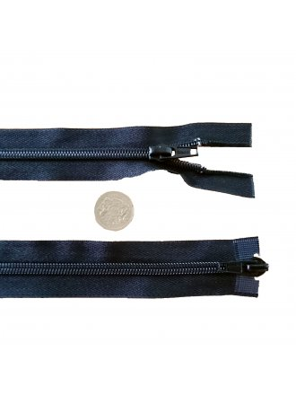 "Nylon Zip 18"" Inch Closed End Zipper No. 5- Black"