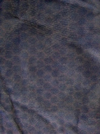 Clearance Corsetry Power Mesh/ Net Material - Midnight Purple Spots CLPM MDPPL