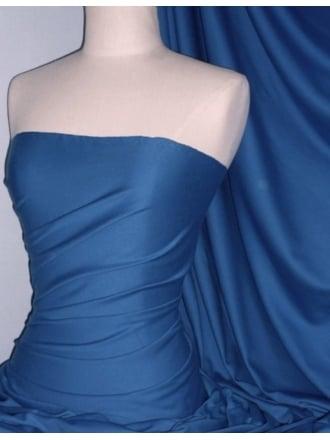 Single Jersey Knit 100% Light Cotton T-Shirt Fabric- Blue Bird Q1249 BLBD