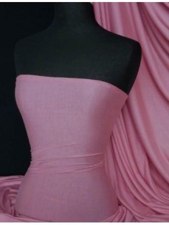 100% Viscose Stretch Fabric Material- Persian Pink 100VSC PRSPN