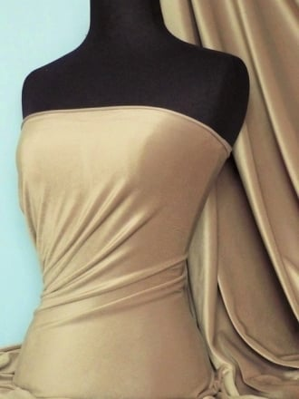 Steam Velvet Stretch Fabric- Cappuccino SV157 CPO