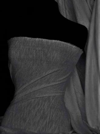 Sweatshirt Loop Back Marl Effect Lightweight Jersey Material- Charcoal Grey SQ94 CHGR
