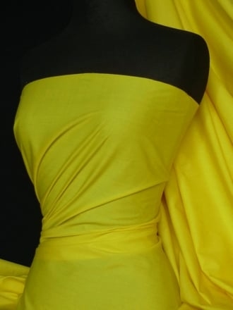 Poly Cotton Material- Neon Yellow Q460 NYL