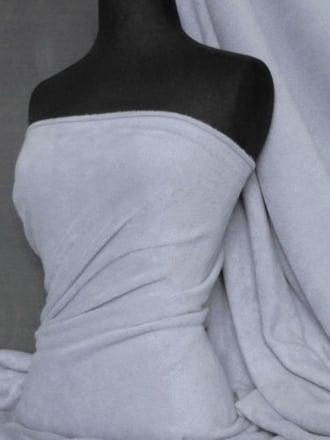 Polar Fleece Anti Pill Washable Soft Fabric- Pastel Lilac PF PLLC