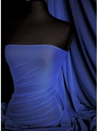 Corsetry Power Mesh/ Net Material - Persian Blue Q107 PSBL