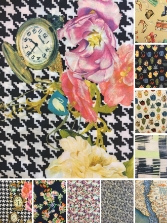 Smooth Touch Woven Stretch Fabric- Assorted Prints