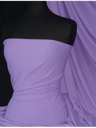 Matt Lycra 4 Way Stretch Fabric- Lilac Q56 LLC
