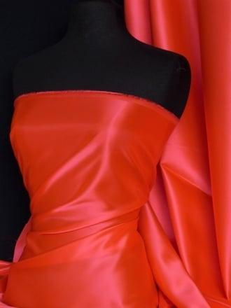 Acetate Satin Fabric Material- Flo Tango Q824 FLTG