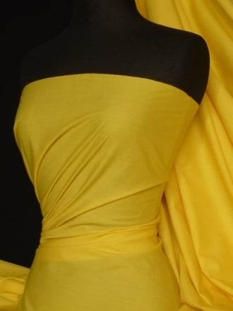 Poly Cotton Material- Yellow Q460 YL