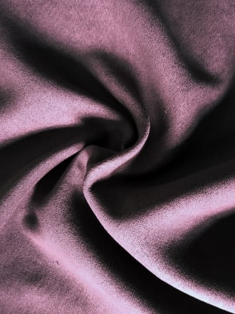 Faux Suede Soft Interior/Upholstery Fabric Material- Damson SQ173 DMS