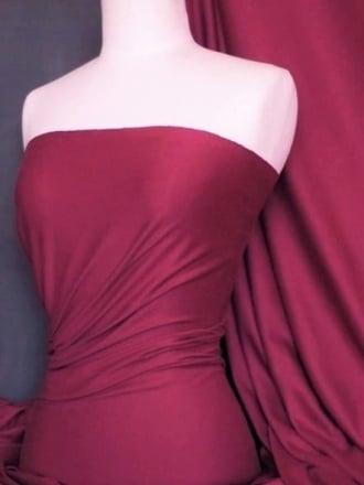 Cotton Lycra Jersey 4 Way Stretch Fabric - Fuchsia Pink Q35 FCH