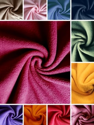 Super Soft Polar Fleece Anti Pill Washable Fabric- NEW Autumn/Winter Colours