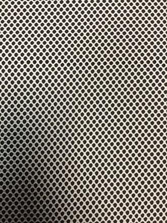 Fishnet Pentagon Design Stretch Material- Ivory SQ196 IV