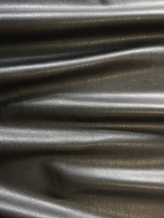 PU Stretch Leatherette Fabric- Black SQ199 BK