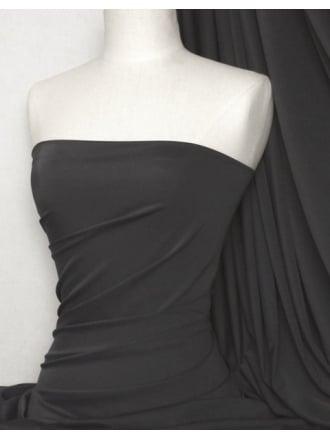Matt Lycra 4 Way Stretch Fabric- Platinum Grey Q56 PTGR