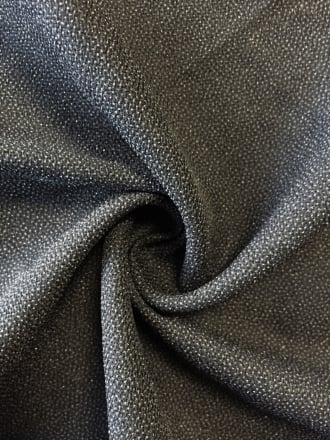 100% Polyester Textured Sheer Lightweight Fabric- Black SQ207 BK