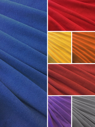 Cotton Fine Rib 1x1 Elastane Stretch T-Shirt Fabric- SQ209