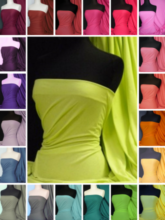 Single Jersey Knit 100% Light Cotton T-Shirt Fabric- Q1249