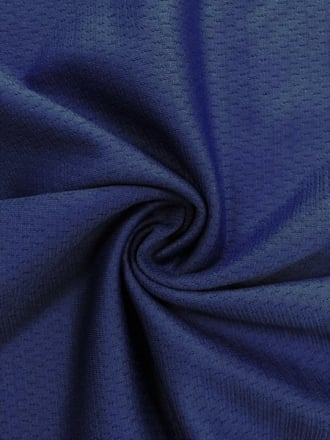 100% Polyester Stretch Sportswear Fabric- Navy SQ170 NY