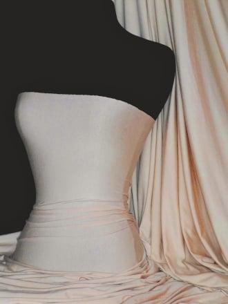 100% Viscose Stretch Fabric Material- Stone 100VSC STN