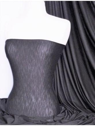 Clearance Spun Poly Viscose Light Weight Stretch Fabric- Platinum Grey PVSC PTGR