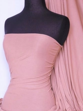 100% Viscose Stretch Fabric Material- Baby Pink 100VSC BPN