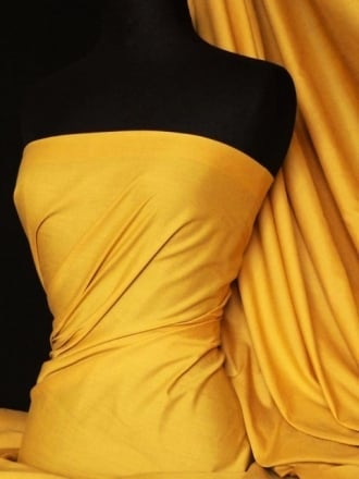 Poly Cotton Material- Sunflower Yellow Q460 SNF