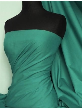 Poly Cotton Material- Sea Green Q460 SGR
